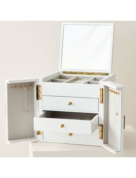Modern Lacquer Jewelry Box – Cube by West Elm