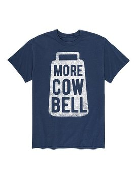 Navy 'more Cow Bell' Tee   Men by Zulily