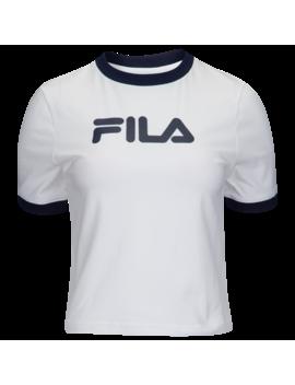 Fila Tionne Crop T Shirt by Foot Locker