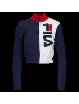 Fila Fabiana 1/2 Zip Sweater by Foot Locker