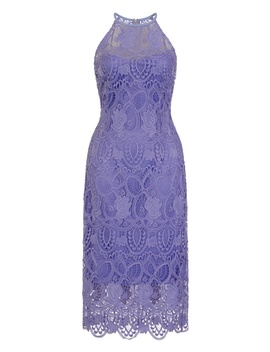 **Paper Dolls Purple Lace Midi Dress by Dorothy Perkins