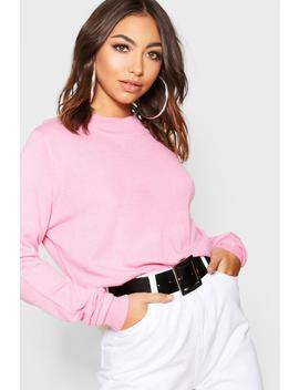 Pull Col Roulé by Boohoo