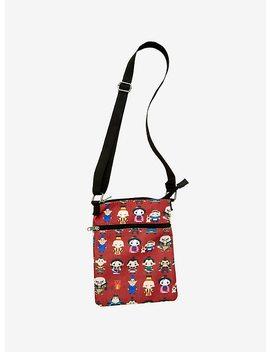 Loungefly Disney Mulan Chibi Passport Crossbody Bag by Hot Topic