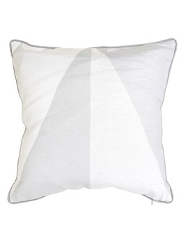 Wilko Geo Cushion Grey 43 X 43cm Wilko Geo Cushion Grey 43 X 43cm by Wilko