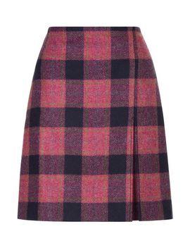 Avery Kick Pleat Skirt by Hobbs