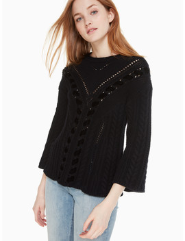 Velvet Ribbon Sweater by Kate Spade