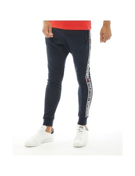Superdry Mens Stadium Joggers Superdry Stadium Navy Grit by Superdry