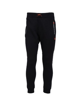 Superdry Mens Gym Tech Slim Joggers Black by Superdry