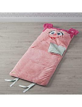 Sesame Street Furry Abby Cadabby Sleeping Bag by Crate&Barrel