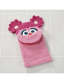 Sesame Street Abby Cadabby Bath Mitt by Crate&Barrel