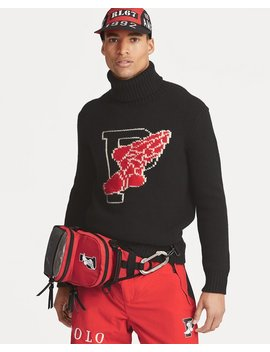 Winter Stadium Wool Turtleneck by Ralph Lauren