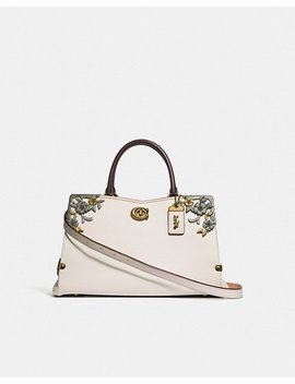 Mason Carryall With Metal Tea Rose by Coach