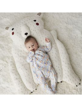 Polar Bear Baby Play Mat by Crate&Barrel