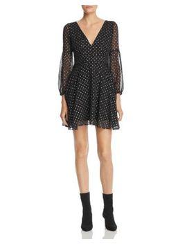 Star Foil Print Dress by Bb Dakota