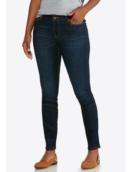 Petite Dark Denim Jeans by Cato