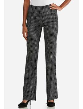 Petite Dotted Pull On Trousers by Cato