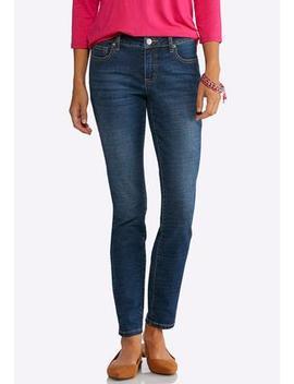 Petite Dark Skinny Jeans by Cato