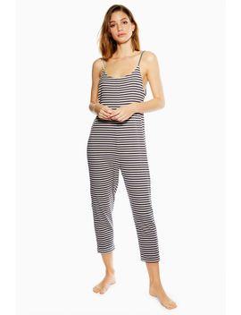 Stripe Lounge Jumpsuit by Topshop