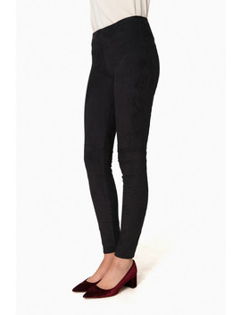 High Waist Suede Legging by Lysse
