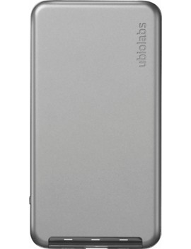 Power10 Apple Certified Portable Charger With Lightning Input   Gray by Ubio Labs