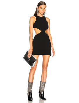 Cut Out Mini Dress by Fausto Puglisi