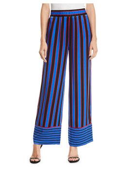 Benny Pajama Pants by Alice + Olivia