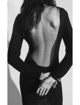 Silk Backless Dress by Marina Moscone