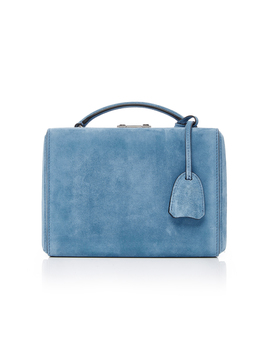 Grace Small Suede Box Bag by Mark Cross