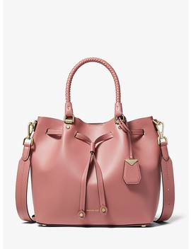 Blakely Medium Leather Bucket Bag by Michael Michael Kors