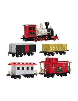 75 Piece Classic Train Set by Fao Schwarz