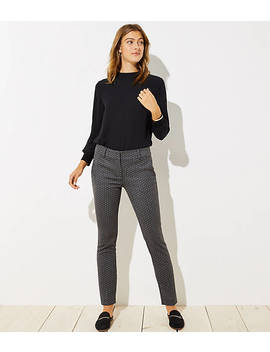 Petite Skinny Pindot Pants In Marisa Fit by Loft