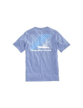 Striped Sportfisher Pocket T Shirt by Vineyard Vines