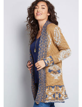 Cafe Creator Oversized Cardigan by Modcloth