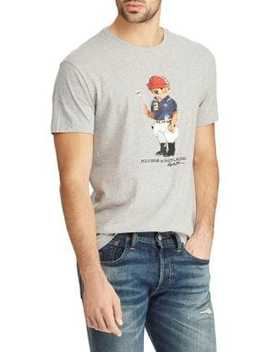 Classic Fit Bear Cotton Tee by Polo Ralph Lauren