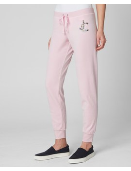 Luxe Sequin Jc Velour Zuma Pant by Juicy Couture