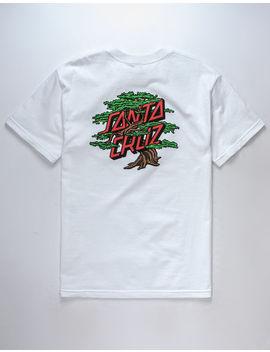 Santa Cruz Bonsai Dot Mens T Shirt by Santa Cruz