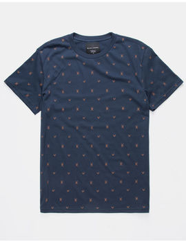 Blue Crown Checkmark Mens T Shirt by Blue Crown