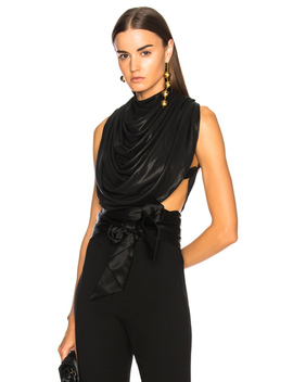 Draped Backless Top by Jw Anderson