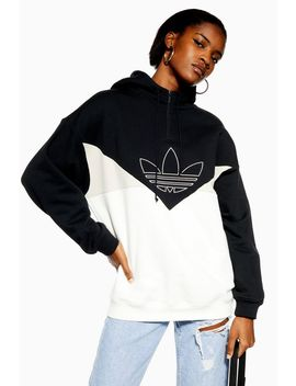Colour Blocking Hoodie By Adidas by Topshop