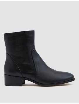 Nancy Leather Boot by Intentionally Blank