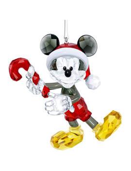 Mickey Mouse Christmas Ornament by Swarovski