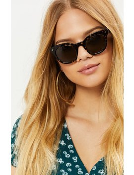Wonderland Tortoise Shell Perris Sunglasses by Pacsun