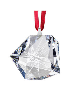 Daniel Libeskind Line Star Ornament by Swarovski