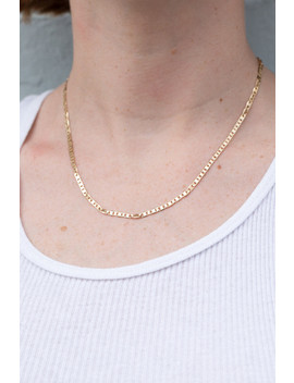 Gold Link Necklace by Brandy Melville