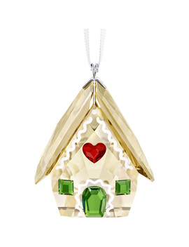 Gingerbread House Ornament by Swarovski