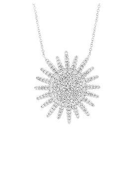 Diana M. Fine Jewelry 14 K 0.43 Ct. Tw. Diamond Celestial Necklace by Diana M