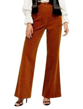 Flared Corduroy Pants by Topshop