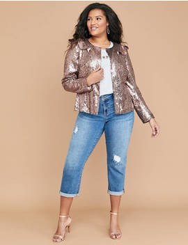 Sequin Jacket by Lane Bryant