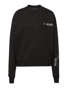 Cotton Sweatshirt With Embellishment by Alexander Wang