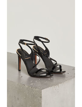 Amilia Faux Patent Leather Sandal by Bcbgmaxazria
